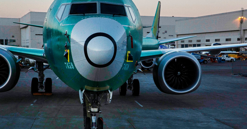 Boeing 737 Max Safety System Was Vetoed, Engineer Says