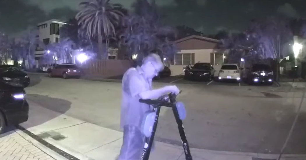 Night Prowler in Florida Cut Electric Scooters' Brakes, Police Say
