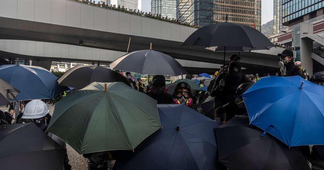 Hong Kong Takes a Symbolic Stand Against China Tech